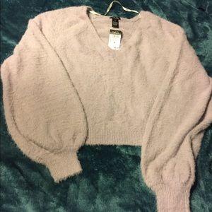 Lilac Rue 21 SOFT Sz M Sweater NWT